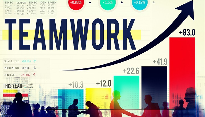 teamwork for sales and marketing