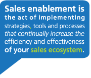 Defining Sales Enablement: Sales Ecosystem