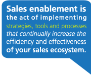 Sales enablement definition: strategies, tools, process