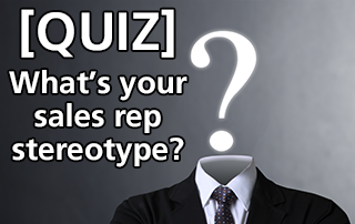 sales rep stereotype quiz