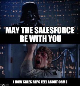 Salesforce. Enough said.
