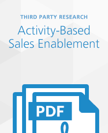 activity based sales enablement