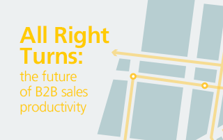 Sales Productivity through all right turns