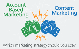 content marketing vs account based marketing